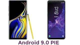 Download Samsung Galaxy S9, Galaxy S9 Plus and Note 9 Android 9.0 Pie OFFICIALLY Coming 2019 Video