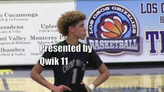 Download LaMelo Ball H.S. Sophomore is Already on NBA Scouts Radar: Chino Hills vs Los Osos Video