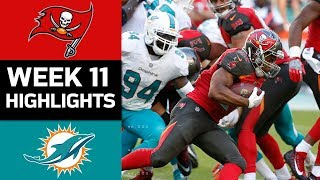 Download Buccaneers vs. Dolphins | NFL Week 11 Game Highlights Video