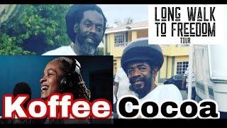 Download COCOA TEA CALLS KOFFEE ON STAGE AND MASH BUJU BANTON LONG WALK TO FREEDOM CONCERT Video