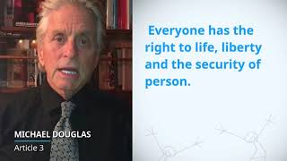 Download UDHR Video Article 3 English Michael Douglas Video