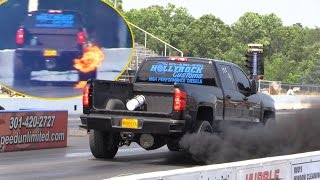 Download Brand New Duramax + NITROUS = Records and FIRE Video