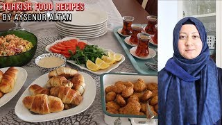 Download Turkish Tea Menu For My Family ✅ 6 Recipes For Lunch And Timely Preparations Video