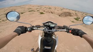 Download Enduro Riding in Moab! Yamaha XT250 Video