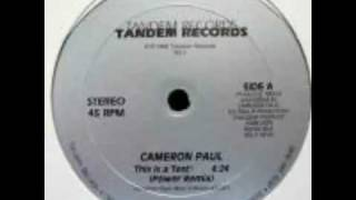 Download Cameron Paul - This Is A Test (Club Mix) Video