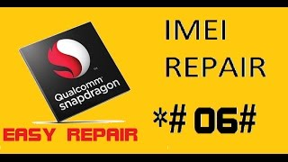 DARKMED REPAIR TOOL V6 0 - Deep Qualcomm IMEI Repair Free Download