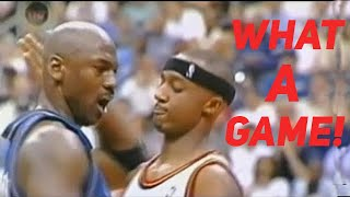 Download What a Game! 40 Yr-Old Michael Jordan Took Over 4th Qtr, But Amazing Happened in Last 0.6 Second! Video