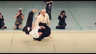 Download Excellent Aikido Demonstration Ueshiba Moriteru Doshu - 植芝守央道主 - 合気道 - [HD] Video
