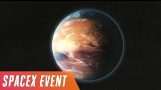 Download Elon Musk's Mars colonization event in 5 minutes Video