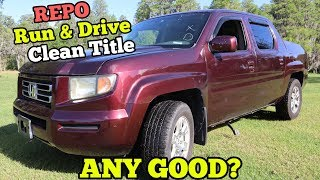 Download I Bought a $3,000 Repossessed Honda Truck from Salvage Auction. HALF OFF RETAIL! Video