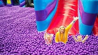 Download Indoor Playground for kids Fun with Gaby and Alex Video
