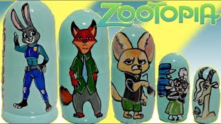 Download Zootopia Nesting Dolls with Judy Hopps & Nick Wilde Toy Surprises Video