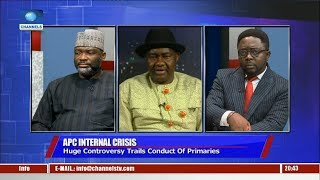 Download Magnus Abe, Tonye Cole In Legal Tussle For Party's Governorship Ticket Pt.2 |Politics Today| Video