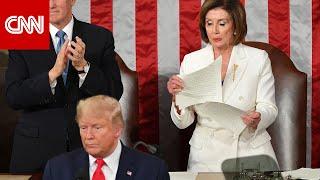 Download بيلوسي تكشف سبب تمزيقها خطاب ترامب في الكونغرس Video