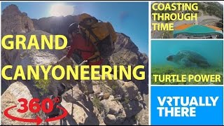 Download Go VR canyoneering in the Arizona desert, take roller coaster thrill ride Video