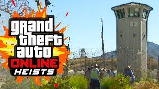 Download PRISON BREAK HEIST (GTA 5 Heists Funny Moments) #1 Video