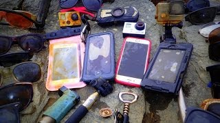 Download River Treasure: 4 iPhones, 2 GoPro's, Pentax WG2 And MOAR!! Video