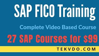 Download SAP FICO Training - Complete SAP FICO Video Based Course Video