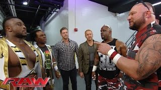 Download Seth Rollins, The New Day, Edge & Christian and The Dudley Boyz cross paths: Raw, September 7, 2015 Video