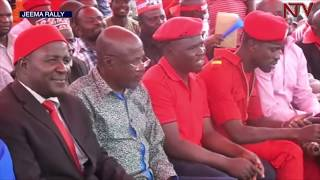 Download Museveni, Besigye, and Bobi Wine in Bugiri as campaigns come to an end Video