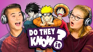 Download DO TEENS KNOW 2000s ANIME? (REACT: Do They Know It?) Video