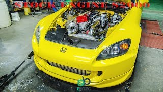 Download Stock Engine Turbo AP2 S2000 Video