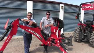 Download Attaching a Backhoe to a Tractor Video