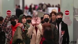 Download 161201 Seventeen 세븐틴 홍콩공항 도착 Hong Kong Airport 香港機場入國 직캠 cam Video