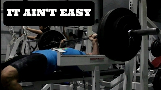 Download Failure Is NOT An Option: Grinding Out The Bench Press Video