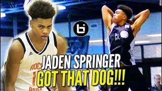 Download TOP 20 Jaden Springer GOT THAT DOG MENTALITY; Sophomore READY TO BREAKOUT!! Video