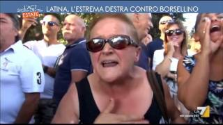 Download Latina, l'estrema destra contro Borsellino Video