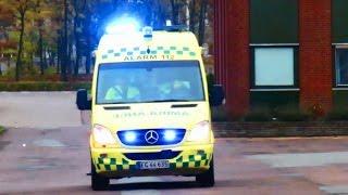 Download new videos fire & rescue combivideo - brandbil og ambulance i udrykning Video