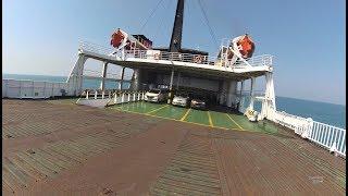 Download Perjalanan Naik Feri Bakauheuni Merak Part.1 menyeberang Selat Sunda Sumatera Jawa Video