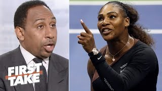 Download Stephen A. says Serena Williams was wrong for 2018 US Open controversy | First Take | ESPN Video
