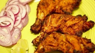 Download Grilled Tandoori chicken (Indian style) Video