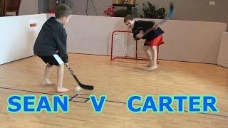 Download Kids HocKey Epic Knee Hockey Sean J v C Banks Video