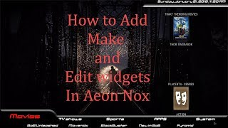 HOW TO MAKE YOUR OWN KODI BUILD PART 1 INSTALLING AEON NOX SILVO