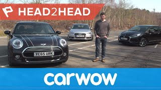 Download MINI vs Audi A1 vs DS 3 (Citroen) Hatchback 2016 review | Head2Head Video
