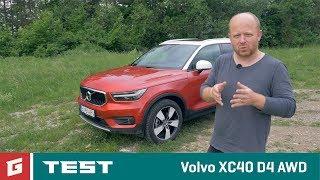 Download Volvo XC40 D4 AWD - SUV - TEST - GARAZ.TV - Rasto Chvala Video