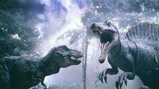 Download 双龙之战!霸王龙竟被凶猛棘龙扭断脖子!速看科幻电影《侏罗纪公园3》 Video