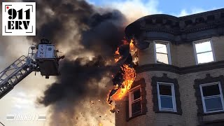 Download On Scene | Lynn, MA Five Alarm Fire on New Years Day Video