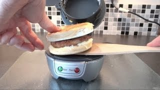 Download Trying out a Hamilton Beach Breakfast Sandwich Maker in the UK (2013 Video - Old Info) Video
