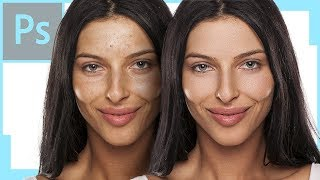Download High-End Skin Retouch with Dodge & Burn in Photoshop Video
