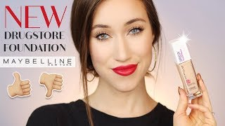 Download MAYBELLINE SUPER STAY FULL COVERAGE 24 HR FOUNDATION REVIEW | ALLIE GLINES Video