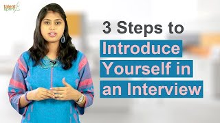 Download 3 Steps to Introduce Yourself in an Interview | Interview Tips | TalentSprint Video