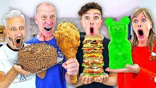 Download Eating 100,000 CALORIES In 24 HOURS - Challenge Video