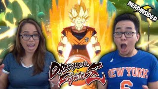 Download Dragon Ball FighterZ FULL MATCH GAMEPLAY E3 2017 REACTION Video
