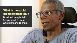 Download What is the social model of disability? - Scope video Video