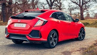 Download 2017 Honda Civic Hatchback - interior Exterior and Drive Video