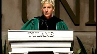Download Ellen at Tulane Commencement 2009 Video